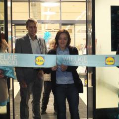 Otwarcie pierwszego w Kobyłce sklepu sieci Lidl