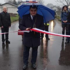 Gwiazdkowy prezent dla Gwizdał – nowa droga asfaltowa