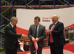 Coca-Cola HBC Polska otworzyła w Radzyminie kolejną inwestycję – tym razem o wartości 24 mln złotych!!!
