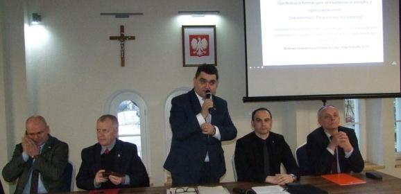 Burzliwe spotkanie w Łochowie, czyli który wariant obwodnicy lepszy?