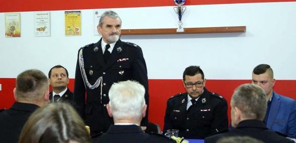 Jednostka OSP Słupno rozwija się na medal! Na tegorocznym walnym zebraniu druhowie spotkali się już we własnej strażnicy!