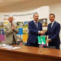 Podpisanie umowy na budowę drogi Jaźwie- Grabów!
