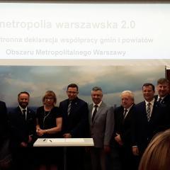 Podpisanie deklaracji Obszaru Metropolitarnego!
