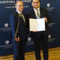Ok. 2,5 mln zł dla Łochowa z MSWiA