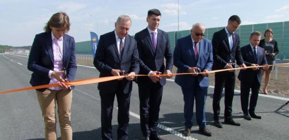 Oddano 16 km odcinek trasy S8 od Węzła Poręba do obwodnicy Ostrowi Mazowieckiej