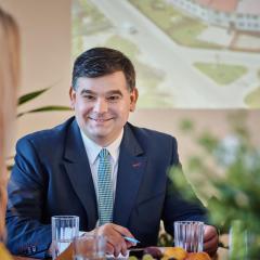 Waldemar Maniecki radny Gminy Zabrodzie  kandydatem na Wójta