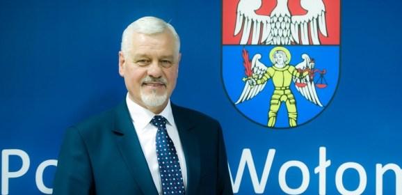 Rozmowa ze starostą wołomińskim Kazimierzem Rakowskim