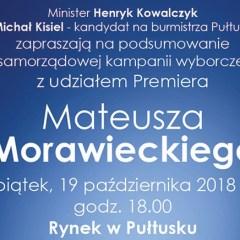 Mateusz Morawiecki w Pułtusku