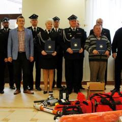 Nowoczesne wyposażenie trafiło do strażaków z Rudy, Zawad i Mokrego!
