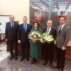 Ewa Besztak nowym starostą powiatu węgrowskiego