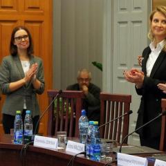 Burmistrz EDYTA ZBIEĆ złożyła ślubowanie