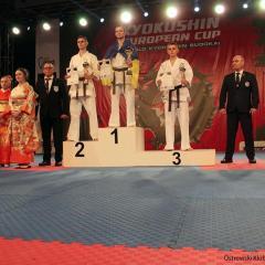 5 medali na Pucharze Europy Karate Kyokushin w Warszawie !!