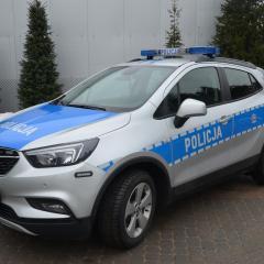Gmina Małkinia Górna współfinansuje zakup samochodu dla Komisariatu Policji w Małkini Górnej