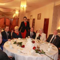 50 lat pożycia małżeńskiego – Młodzi dziennikarze z wizytą u Pani Burmistrz