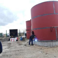 Trwają prace remontowe Stacji Uzdatniania Wody w Królach Małych