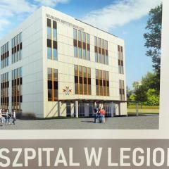 Nowoczesny, wojskowy szpital w Legionowie będzie służył mieszkańcom miasta i powiatu!