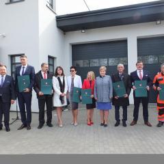 Otwarcie nowej Stacji Pogotowia Ratunkowego i Transportu Sanitarnego w Ostrowi Mazowieckiej