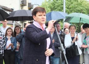 Wicepremier Beata Szydło spotkała się z mieszkańcami Węgrowa