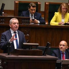 Sejm odrzucił wniosek o wyrażenie wotum nieufności wobec ministra środowiska Henryka Kowalczyka
