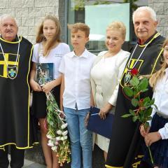 """Podsumowanie Międzyszkolnego Konkursu  Historycznego """"Daty z życia św. Jana Pawła II"""""""