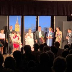 Teatr Komedia  gościł z nowym spektaklem na Zamku w Pułtusku