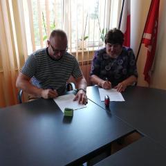 Przebudowa drogi gminnej w miejscowości Zaręby-Choromany