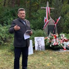 Jurgi, miejsce gdzie zginęli ostatni żołnierze antykomunistycznego oddziału Jana Kmiołka