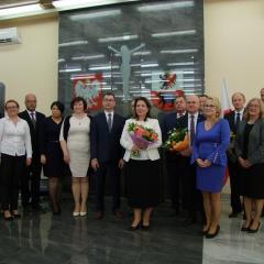 Uroczystość z okazji święta Dnia Edukacji Narodowej powiatu węgrowskiego