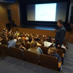 O bezpieczeństwie z uczniami klas I