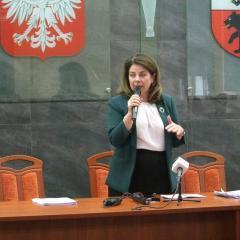 Podsumowanie roku pracy Zarządu Powiatu Węgrowskiego