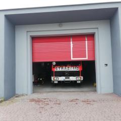 Nowe drzwi garażowe w OSP w Andrzejewie