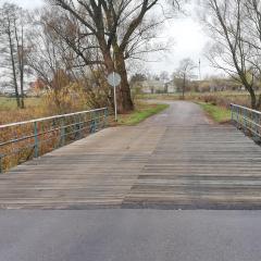 Wyremontowany most w Dąbrowie