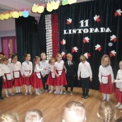 Akademia z okazji 11 Listopada w Przedszkolu nr 9 w Wyszkowie