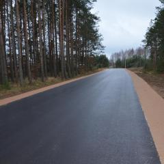 Zakończono ostatni etap przebudowy drogi powiatowej na odcinku Brudki Nowe – Przedświt