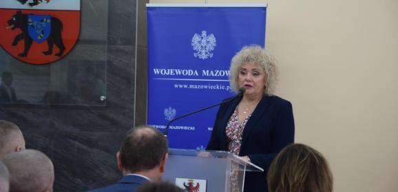 O warunkach zatrudnienia cudzoziemców, podzielonej płatności i Bazie Danych Odpadowych rozmawiali z przedsiębiorcami w Starostwie Węgrowskim