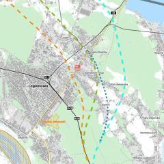 Planowane korytarze kolejowe i drogowe CPK zniszczą nasz region!