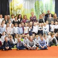 Pierwsza Dama odwiedziła Przedszkole nr 2 w Radzyminie!