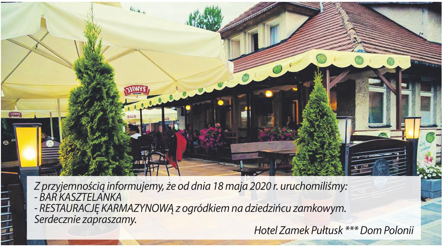 Hotel Zamek Dom Polonii w Pułtusku