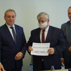 Pieniądze na inwestycje dla powiatu wyszkowskiego