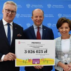 Powiatowe Centrum Opiekuńczo-Mieszkalne w Kobyłce z rządowym wsparciem!