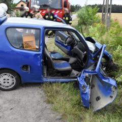 Ranni w wypadku
