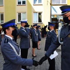 Święto Policji w Komendzie Powiatowej Policji w Wyszkowie