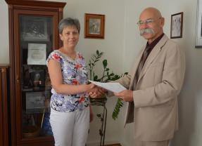 Podpisano umowę na przebudowę ciągów dróg w Wąsewie