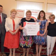 Uroczyste podpisanie i wręczenie umów o udzielenie dotacji z budżetu Województwa Mazowieckiego