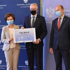 726 285 zł  wsparcia dla dzieci terenu Powiat Wołomiński