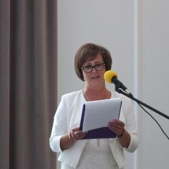 Jubileusz  40 – lecia pracy Hanny Wójcik – dyrektor Samorządowego Przedszkola Nr 1 w Łochowie