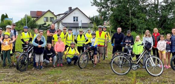 """Podsumowanie I """"Konwoju Rowerowego"""" w gminie Radzymin ze sportowymi atrakcjami nie tylko dla najmłodszych!"""