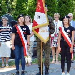 Mieszkańcy uczcili 76. rocznicę wybuchu Powstania Warszawskiego i zdobycia Radzymina przez Armię Krajową