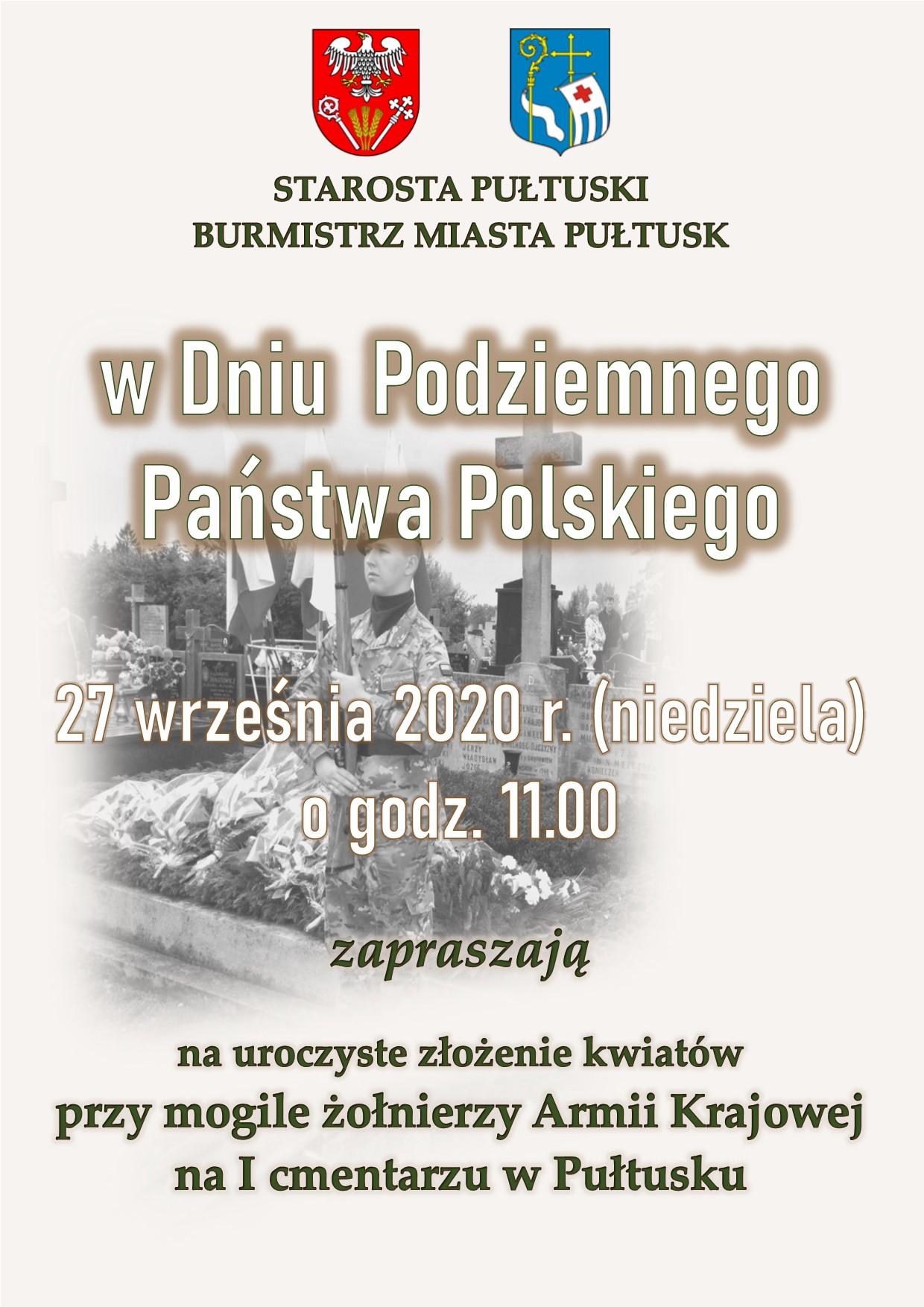 27.09 Dzień Podziemnego Państwa Polskiego Pułtusk