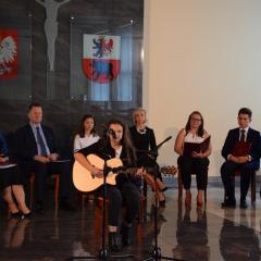 I Powiatowe Narodowe Czytanie w Węgrowie